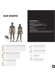 Sportfull Size Charts